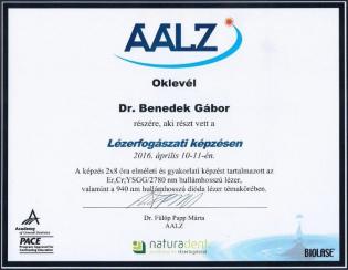 Dr. Benedek Gábor oklevél_2016.04_2