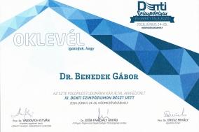 Dr. Benedek Gábor oklevél_2016.06.24