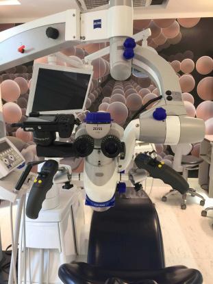 mikroszkópos gyökérkezelés