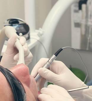 Lézeres fogászati beavatkozás